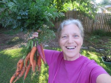 Carrot Selfie!