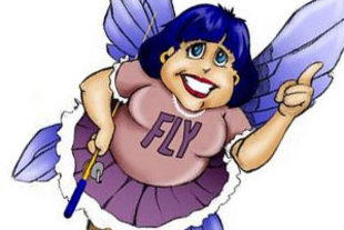 Flylady.net is a real person. I find her ideas and her inner light lovely. Check out her site if you need help with housekeeping.