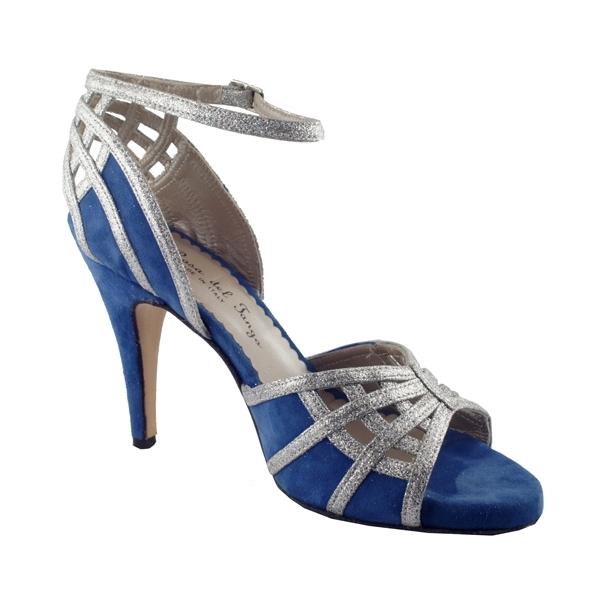 blue tango shoe